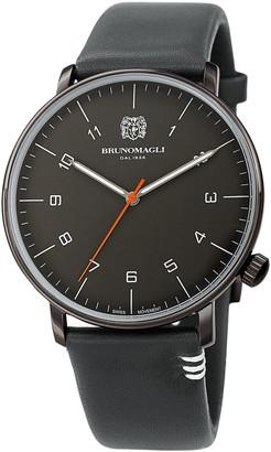 Bruno Magli Men's Leather Watch