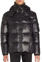 S13/Nyc Puffer Faux Fur-Trimmed Jacket