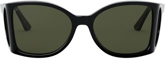 Persol oversized frame sunglasses