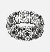 Avenue Jet Filigree Stretch Bracelet