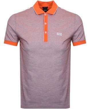 Boss Athleisure BOSS Athleisure Paddy 2 Polo T Shirt Orange