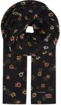 The Kooples Floral silk scarf