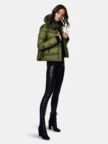 Thumbnail for your product : Dawn Levy Vera Gem Midweight Puffer with Fox Fur Collar