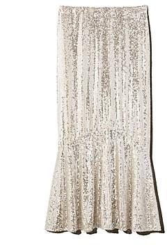 Whistles Suki Sequined Midi Skirt