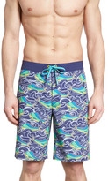 Vineyard Vines Dolphin Fish Wave Board Shorts