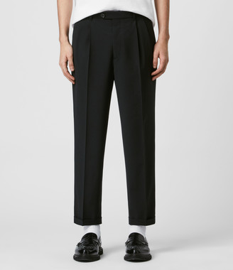 AllSaints Portman Cropped Straight Pants