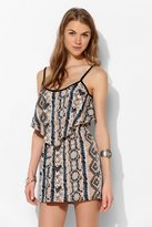 Urban Outfitters Band Of Gypsies Silky Double Layer Romper