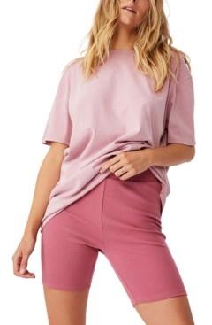Cotton On Women's The Beverly Rib Bike Shorts