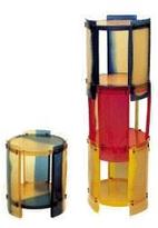 Nobody's Stackable Round Table By Gaetano Pesce