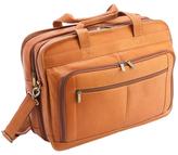 Royce Leather Expandable Laptop Briefcase