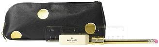 Kate Spade Scatter Dot Pencil Case (Black) Wallet