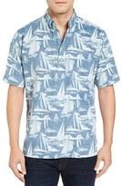 Reyn Spooner Men's Reyn's Cup Classic Fit Print Camp Shirt
