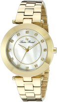 Lucien Piccard Women's Odessa 16309-YG-22 Gold-Tone/ Stainless Steel Watch