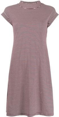 Aspesi Striped Print Dress