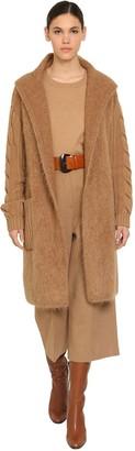 Max Mara Oversize Wool & Cashmere Cardigan