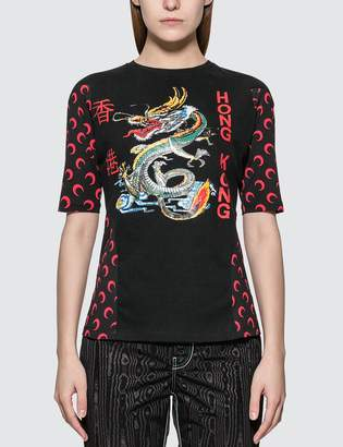 Marine Serre Moon Intervened T-shirt