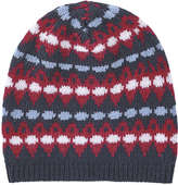 Joe Fresh Men's Jacquard Winter Hat, Red (Size O/S)