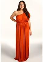 Rachel Pally Plus - Plus Size London Dress (Pumpkin) - Apparel