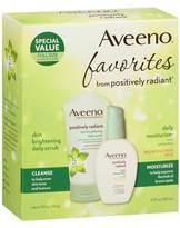Aveeno Active Naturals Positively Radiant Scrub/Moisturizer