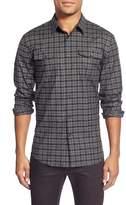 John Varvatos Slim Fit Check Sport Shirt