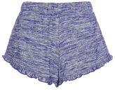 Topshop Frilly neppy runner shorts