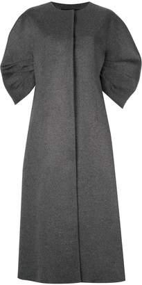 GOEN.J Crescent sleeved coat