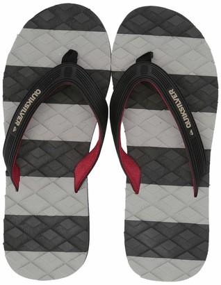 Quiksilver Men's Massage Flip-Flop Black Grey 6(39) M US