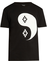 Marcelo Burlon County of Milan Pissis Tao-print cotton T-shirt