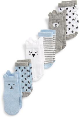 Nordstrom 6-Pack Animal Crew Socks