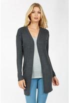 Select Fashion Fashion Womens Grey New Rib Cardi - size 6