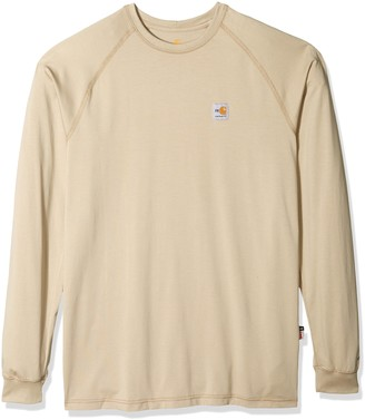 Carhartt Men's Big and Tall Big & Tall Flame Resistant Force Long Sleeve T Shirt