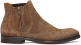 H By Hudson Brown Suede Mitchell Boots
