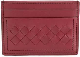 Bottega Veneta woven card holder