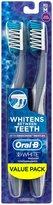 Oral-B Oral B 3D White Action Radiant Whitening Toothbrush 40 Medium - 2 ct