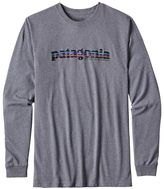 Patagonia Men's Long-Sleeved '73 Text Logo Cotton/Poly Responsibili-TeeTM