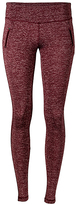 Therapy Burgundy Side-Vent Active Leggings - Plus Too