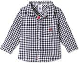 Petit Bateau Baby boys plaid shirt
