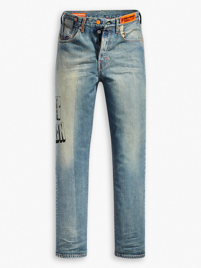 501 Straight Fit Shop The World S Largest Collection Of Fashion Shopstyle Levi's® джинсы 501 original cropped. x heron preston 501 original fit women s jeans