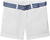 Ralph Lauren White Chino Shorts with Belt
