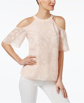 CeCe Off-The-Shoulder Swing Top