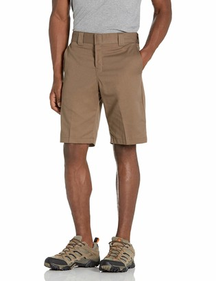 Dickies Men's 11 Inch Relaxed-Fit Stretch Twill Work Short