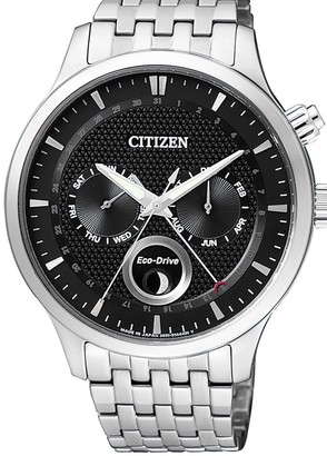 Citizen Men's Eco-Drive Moon Phase Analog Watch, 42mm
