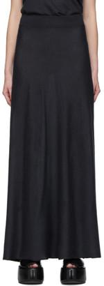 Frenckenberger Green Cashmere A-Shape Skirt