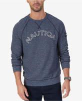 Nautica Men's Big & Tall Signature Logo Sweatshirt