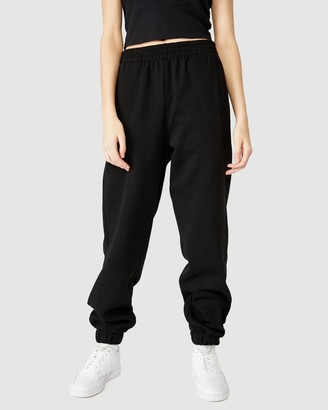 Factorie - Women's Black Sweatpants - Super Slouchy Trackpants - Size XS at The Iconic
