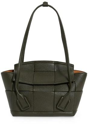 Bottega Veneta Small Leather Arco Top-Handle Bag