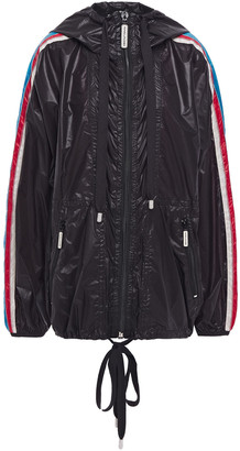 Marc Jacobs Printed Coated-shell Hooded Jacket