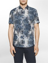Calvin Klein Classic Fit Linear Ink Short Sleeve Shirt