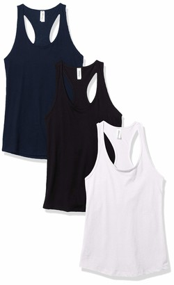 Marky G Apparel Women's Ideal Racerback Tank Top (Pack of 3)