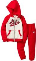 True Religion Old School Hook Up Hoodie & Pant Set (Toddler Boys)
